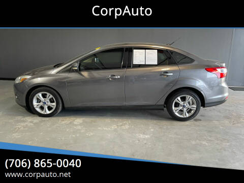 2013 Ford Focus for sale at CorpAuto in Cleveland GA