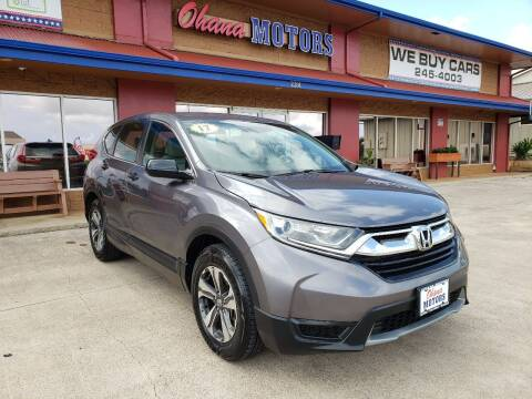 2017 Honda CR-V for sale at Ohana Motors in Lihue HI