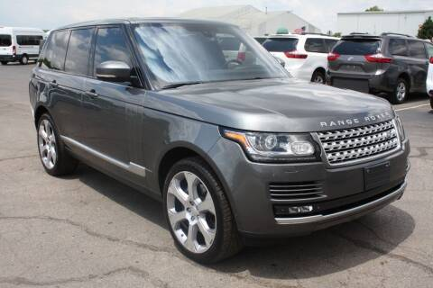 2015 Land Rover Range Rover for sale at LJ Motors in Jackson MI