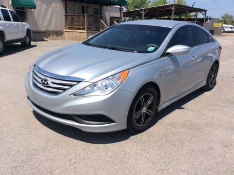 2014 Hyundai Sonata for sale at OASIS PARK & SELL in Spring TX