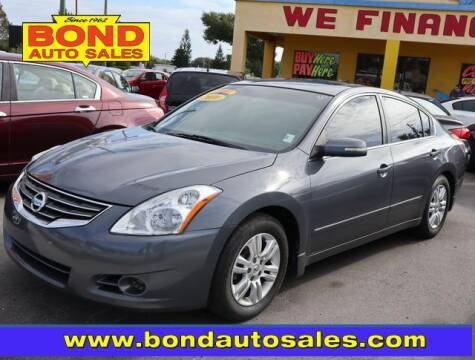 2010 Nissan Altima for sale at Bond Auto Sales in St Petersburg FL