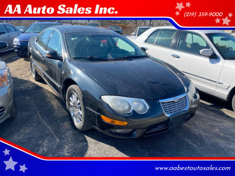 2004 Chrysler 300M for sale at AA Auto Sales Inc. in Gary IN
