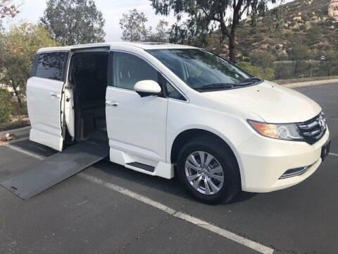 2017 Honda Odyssey for sale at AMS Vans in Tucker GA