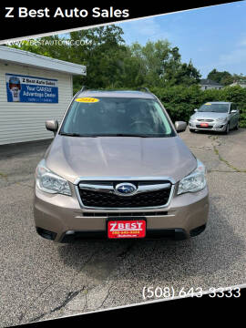 2014 Subaru Forester for sale at Z Best Auto Sales in North Attleboro MA