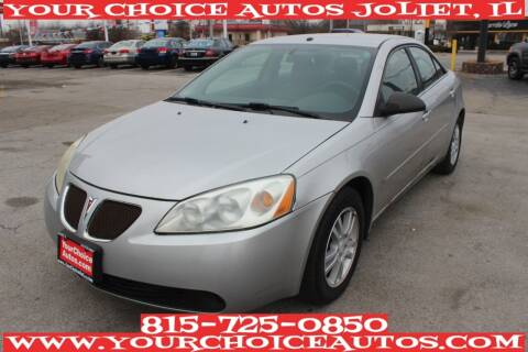 2006 Pontiac G6 for sale at Your Choice Autos - Joliet in Joliet IL