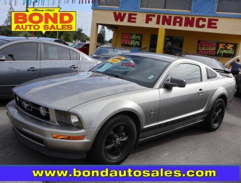 2008 Ford Mustang for sale at Bond Auto Sales in Saint Petersburg FL