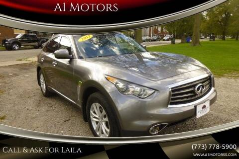 2012 Infiniti FX35 for sale at A1 Motors Inc in Chicago IL