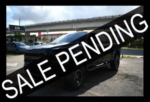 2018 Ford F-150 for sale at ELITE MOTOR CARS OF MIAMI in Miami FL