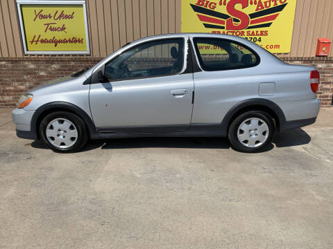 2001 Toyota ECHO for sale at BIG 'S' AUTO & TRACTOR SALES in Blanchard OK