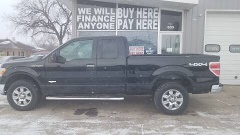 2012 Ford F-150 for sale at STERLING MOTORS in Watertown SD