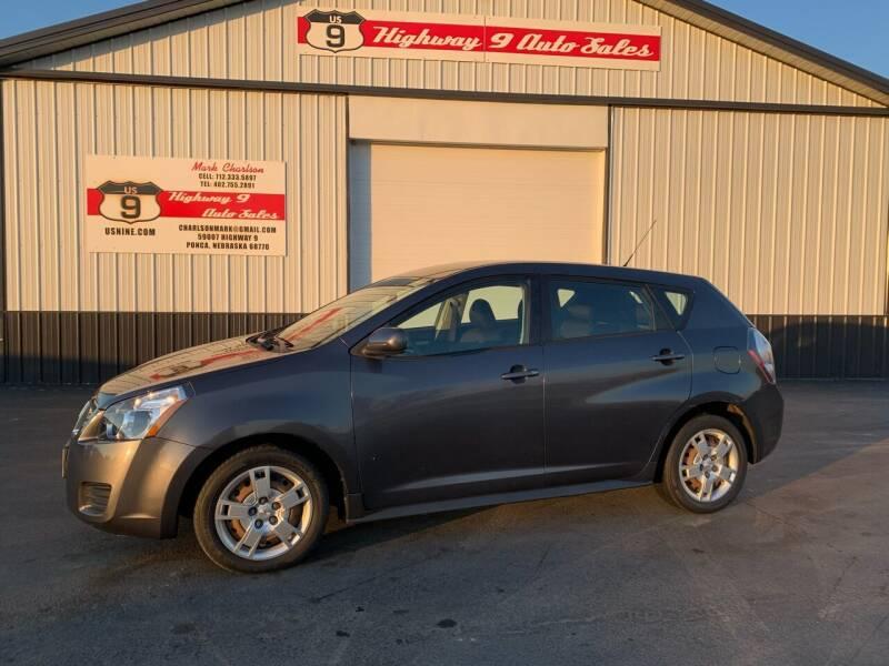 2009 Pontiac Vibe for sale at Highway 9 Auto Sales - Visit us at usnine.com in Ponca NE