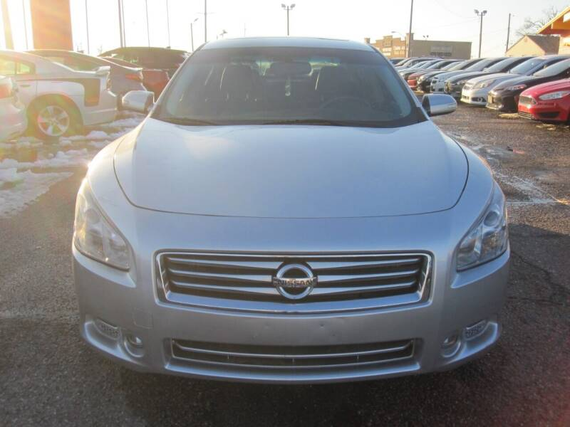 2014 Nissan Maxima for sale at T & D Motor Company in Bethany OK