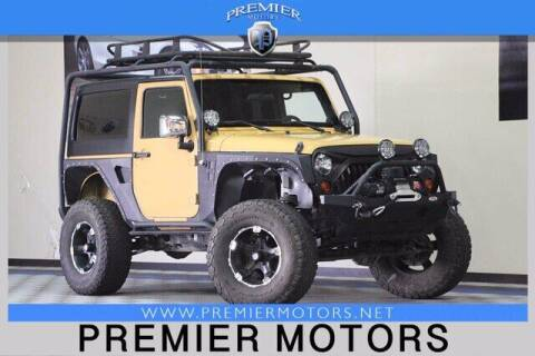 2013 Jeep Wrangler for sale at Premier Motors in Hayward CA