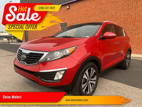 2012 Kia Sportage for sale at Boise Motorz in Boise ID