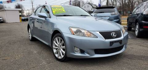 2009 Lexus IS 250 for sale at Russo's Auto Exchange LLC in Enfield CT