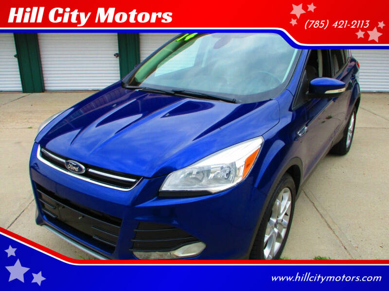 2014 Ford Escape for sale at Hill City Motors in Hill City KS