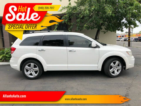 2009 Dodge Journey for sale at AllanteAuto.com in Santa Ana CA