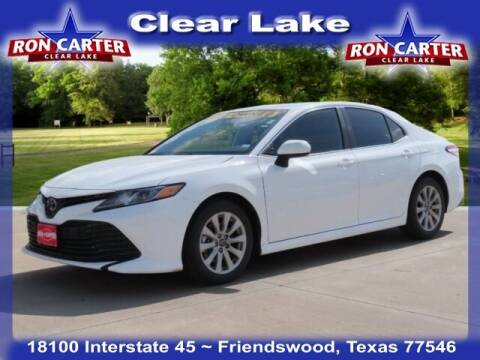 2019 Toyota Camry for sale at Ron Carter  Clear Lake Used Cars in Houston TX