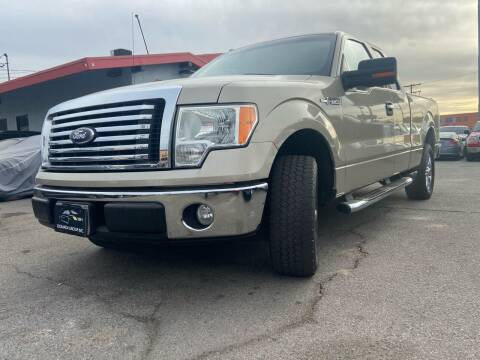 2010 Ford F-150 for sale at Donada  Group Inc in Arleta CA