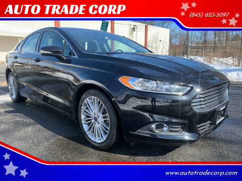 2015 Ford Fusion for sale at AUTO TRADE CORP in Nanuet NY