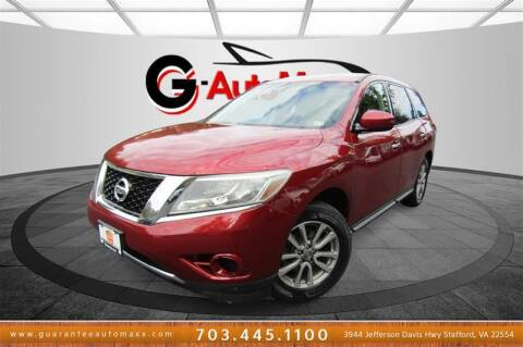 2014 Nissan Pathfinder for sale at Guarantee Automaxx in Stafford VA