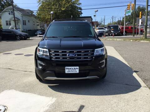 2016 Ford Explorer for sale at Steves Auto Sales in Little Ferry NJ