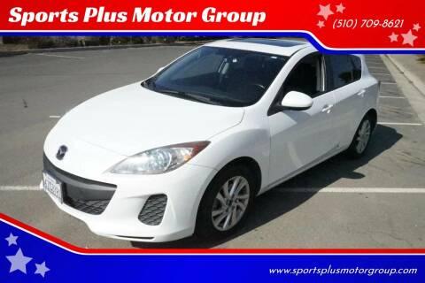 2013 Mazda MAZDA3 for sale at Sports Plus Motor Group LLC in Sunnyvale CA