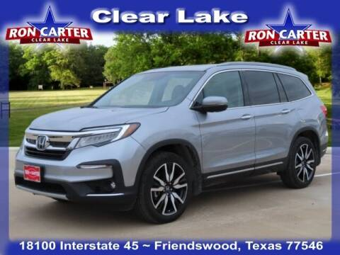 2019 Honda Pilot for sale at Ron Carter  Clear Lake Used Cars in Houston TX