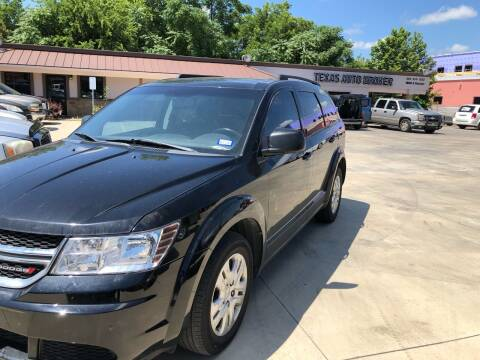 2016 Dodge Journey for sale at Texas Auto Broker in Killeen TX