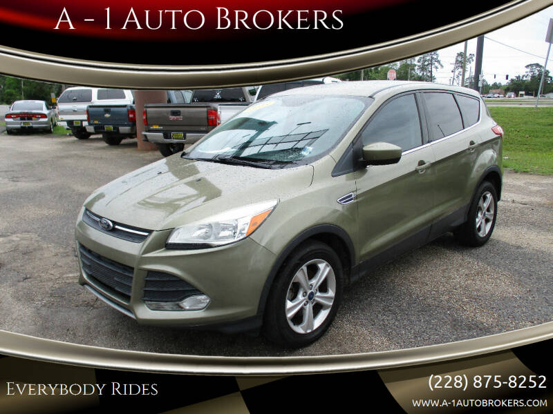 2013 Ford Escape for sale at A - 1 Auto Brokers in Ocean Springs MS
