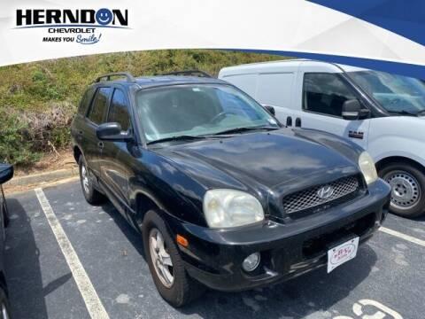 2003 Hyundai Santa Fe for sale at Herndon Chevrolet in Lexington SC