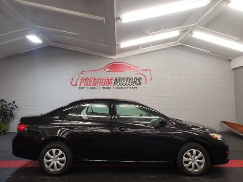 2010 Toyota Corolla for sale at Premium Motors in Villa Park IL
