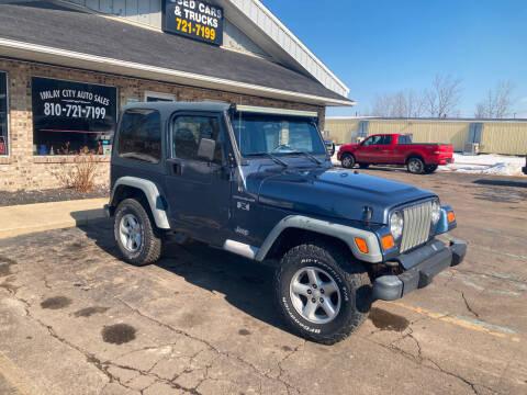 2002 Jeep Wrangler for sale at Imlay City Auto Sales LLC. in Imlay City MI