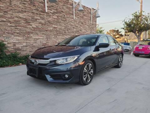 2016 Honda Civic for sale at Masi Auto Sales in San Diego CA
