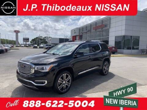 2018 GMC Acadia for sale at J P Thibodeaux Used Cars in New Iberia LA