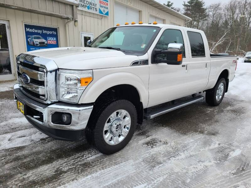 2016 Ford F-250 Super Duty for sale at Medway Imports in Medway MA