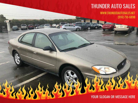 2006 Ford Taurus for sale at Thunder Auto Sales in Sacramento CA