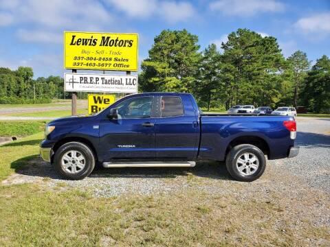 2010 Toyota Tundra for sale at Lewis Motors LLC in Deridder LA