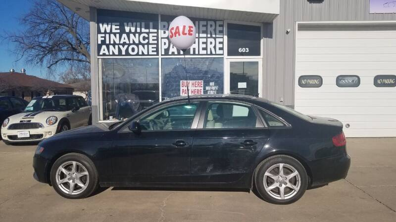 2009 Audi A4 for sale at STERLING MOTORS in Watertown SD