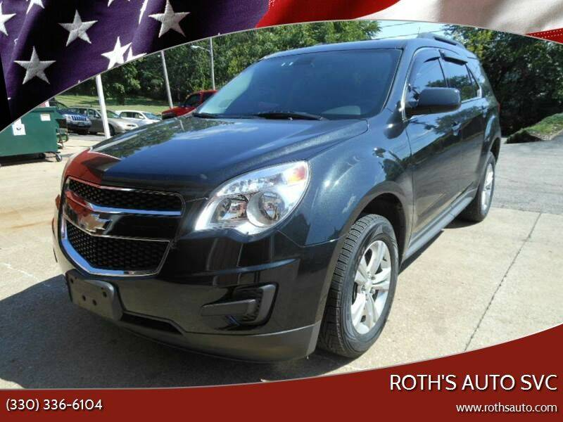 2010 Chevrolet Equinox for sale at ROTH'S AUTO SVC in Wadsworth OH