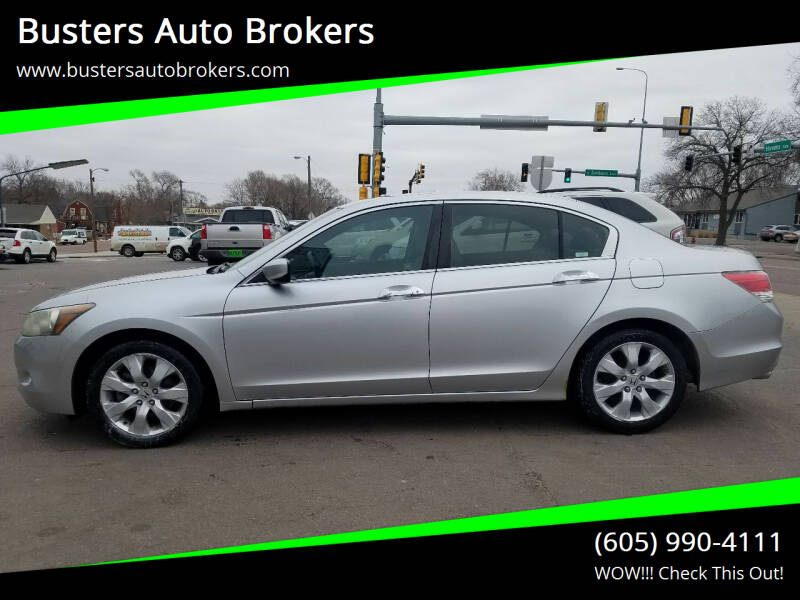 2008 Honda Accord for sale at Busters Auto Brokers in Mitchell SD