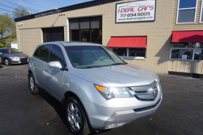 2007 Acura MDX for sale at I-Deal Cars LLC in York PA