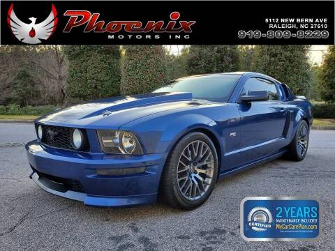 2008 Ford Mustang for sale at Phoenix Motors Inc in Raleigh NC