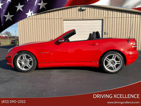 2004 Mercedes-Benz SLK for sale at Driving Xcellence in Jeffersonville IN