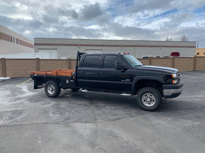 2007 Chevrolet Silverado 2500HD Classic for sale at Hoskins Trucks in Bountiful UT