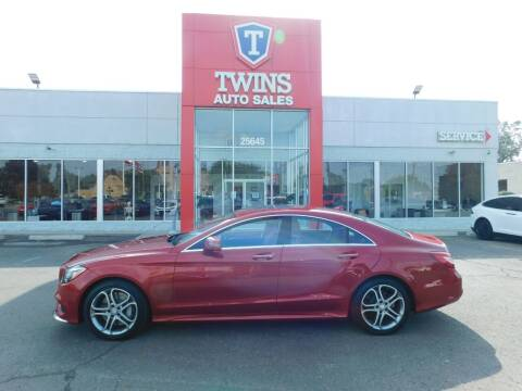 2016 Mercedes-Benz CLS for sale at Twins Auto Sales Inc Redford 1 in Redford MI