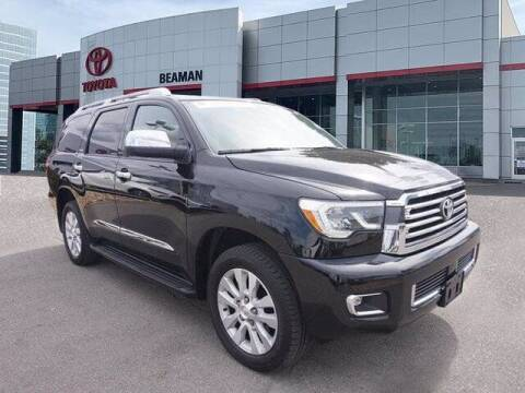 2018 Toyota Sequoia for sale at BEAMAN TOYOTA in Nashville TN