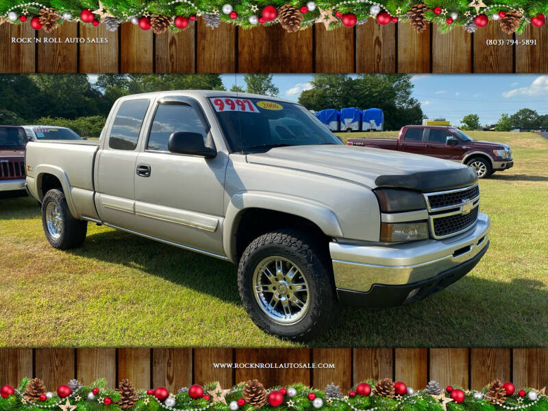 2006 Chevrolet Silverado 1500 for sale at Rock 'n Roll Auto Sales in West Columbia SC