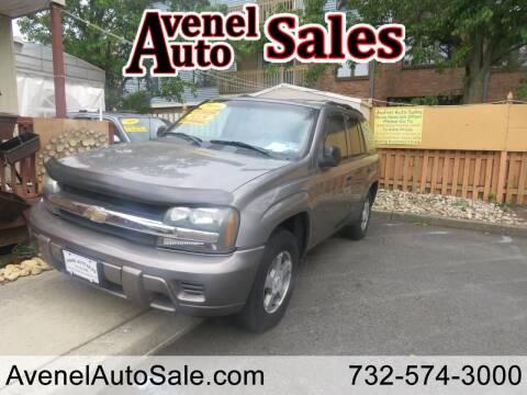 2006 Chevrolet TrailBlazer for sale at Avenel Auto Sales in Avenel NJ