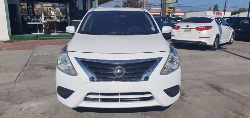 2017 Nissan Versa for sale at Auto Land in Ontario CA